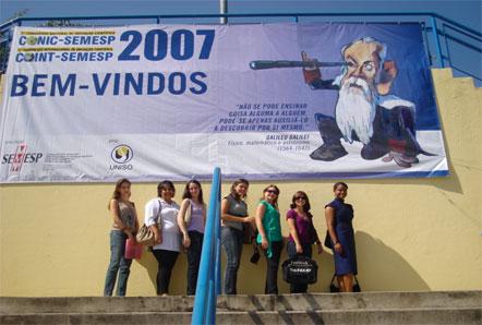 Alunas do curso de Ciências Contábeis e Turismo e Hotelaria participam do CONIC 2007