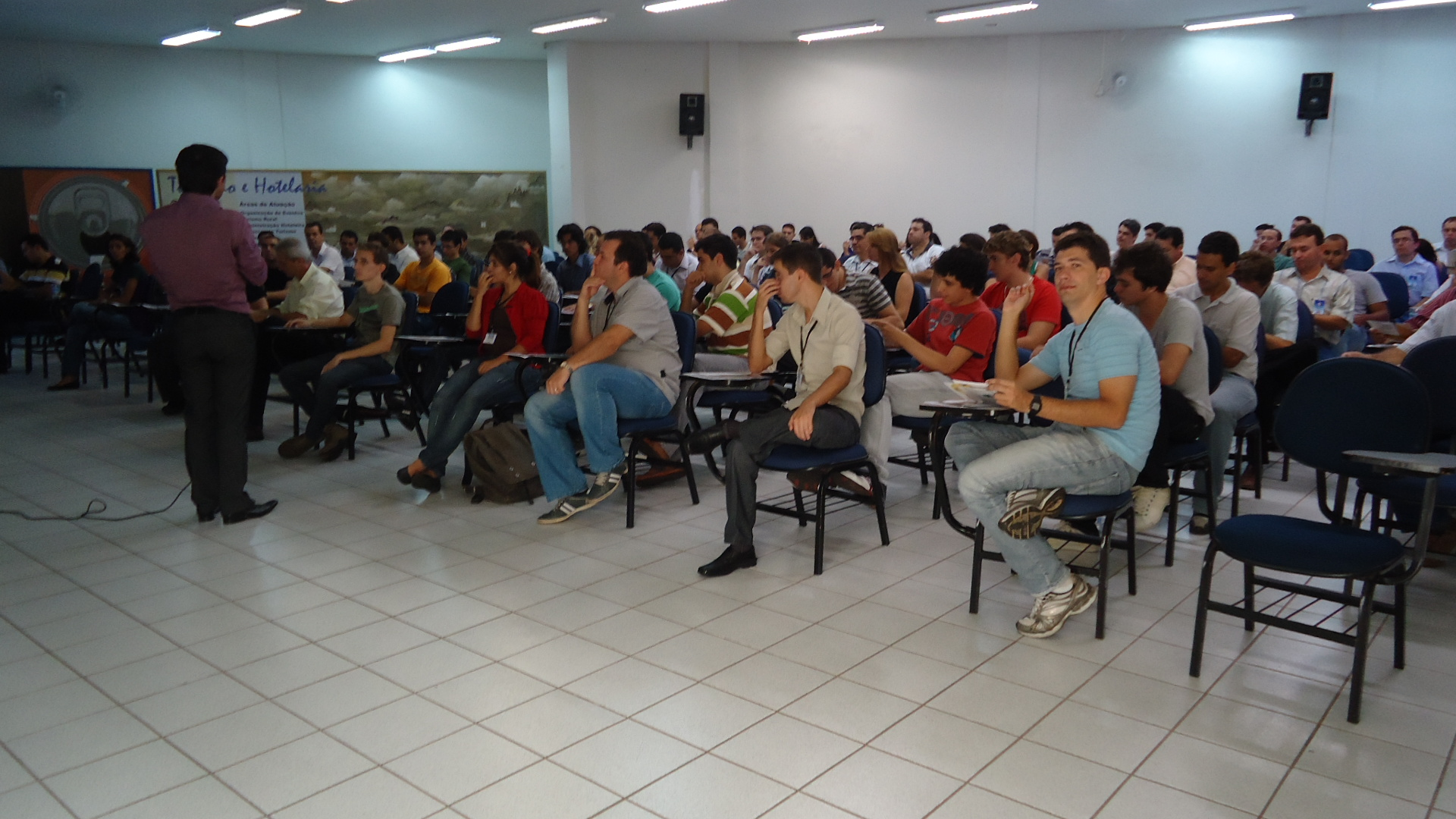 Workshop EMPREENDER COMPETITIVO, organizado pela ACIF e SEBRAE no dia 26/02/2011
