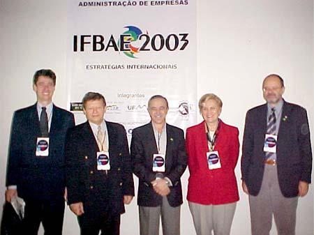 IFBAE realizado em Franca - 2003