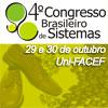4º Congesso Brasileiro de Sistemas