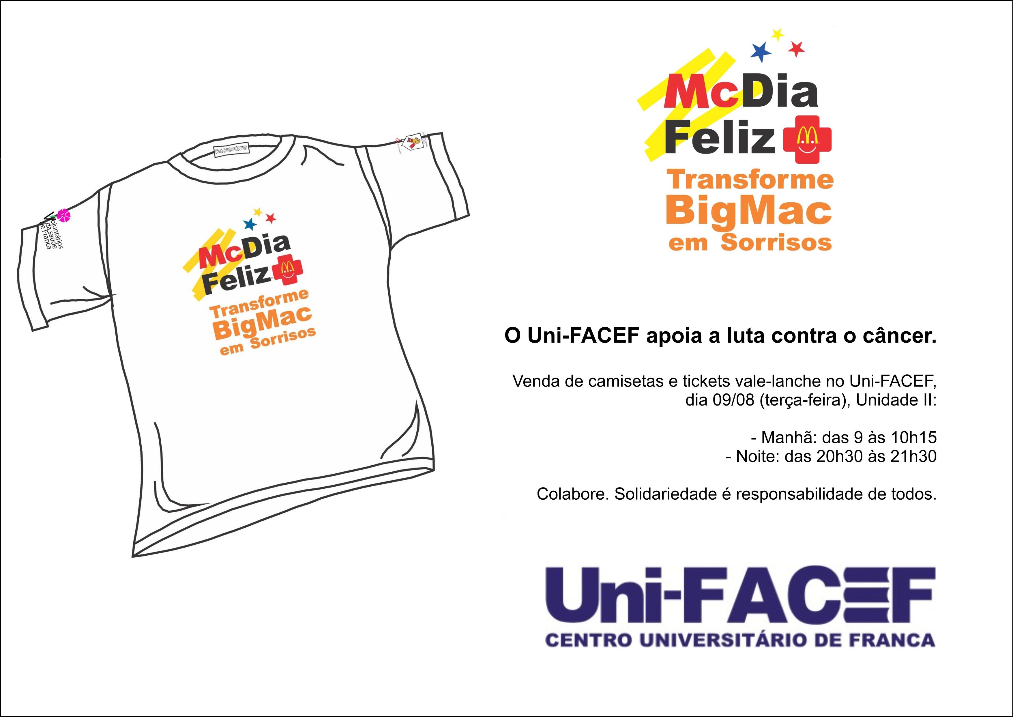 Uni-FACEF apoia a luta contra o câncer
