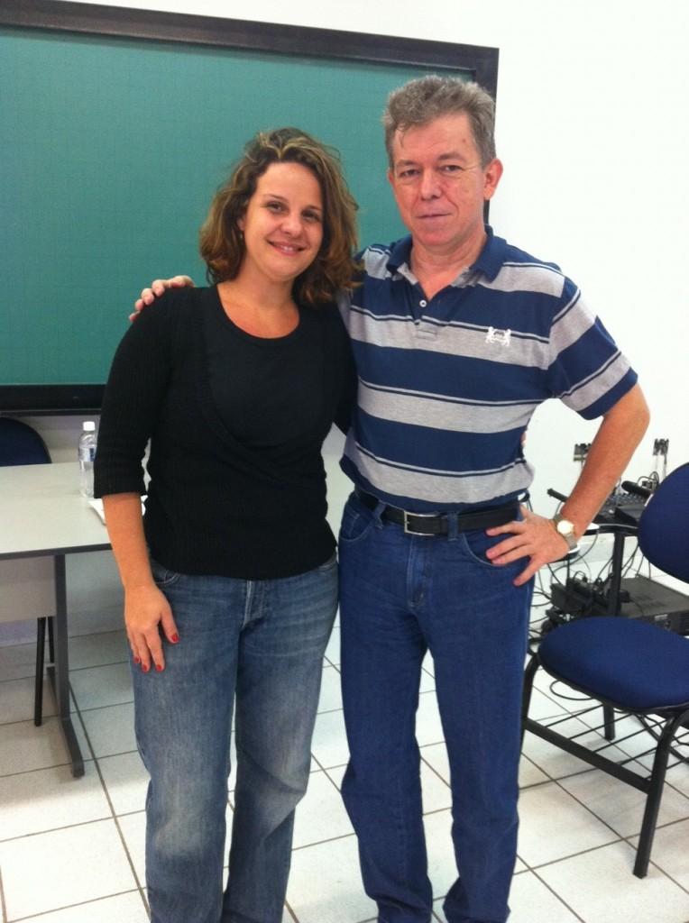 Profª Daniela e Prof. Toninho