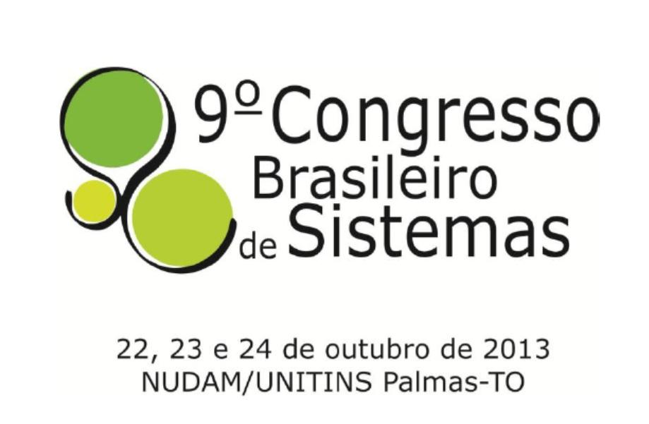 Participe de 9º Congresso Brasileiro de Sistemas