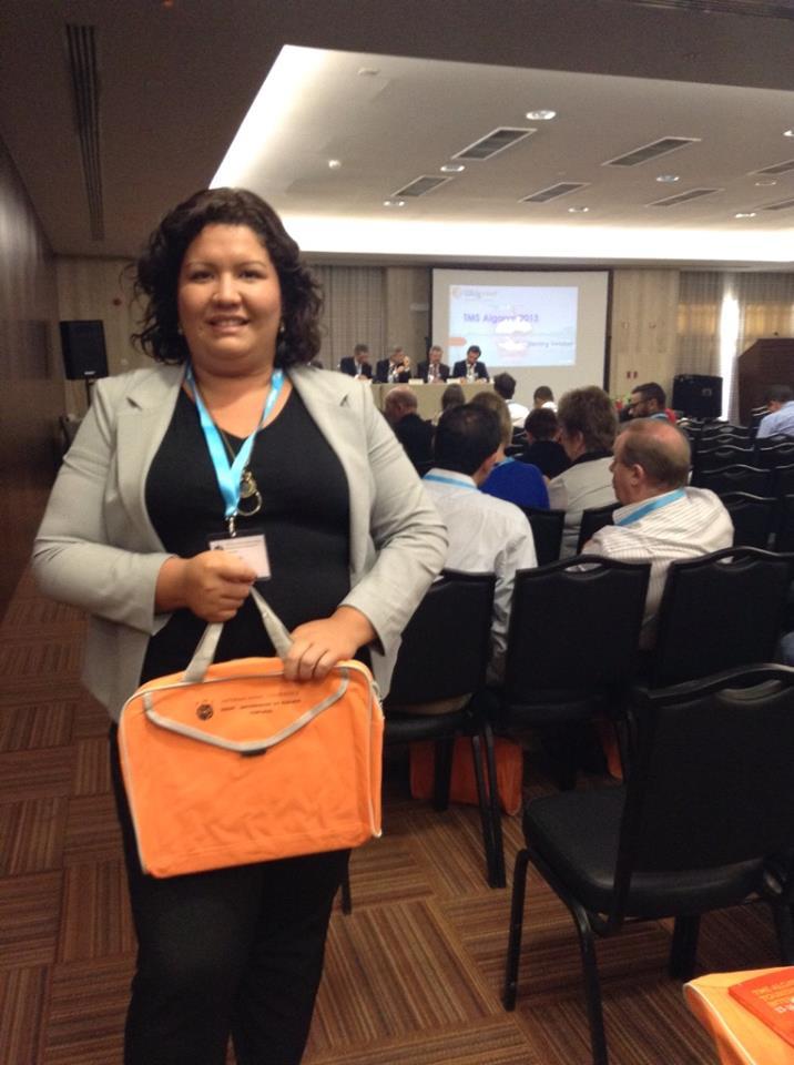Professora do Uni-FACEF apresenta trabalho em Portugal