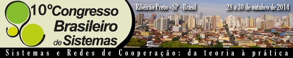 10º Congresso Brasileiro de Sistemas