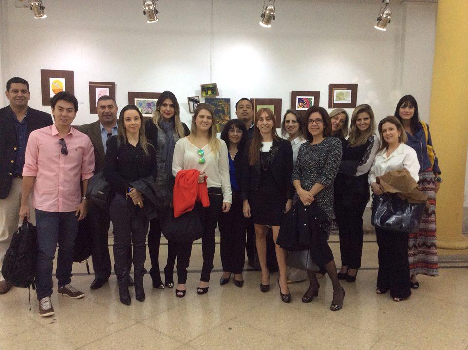 Alunos e Professores da Pós-Graduação Uni-FACEF, na Argentina.