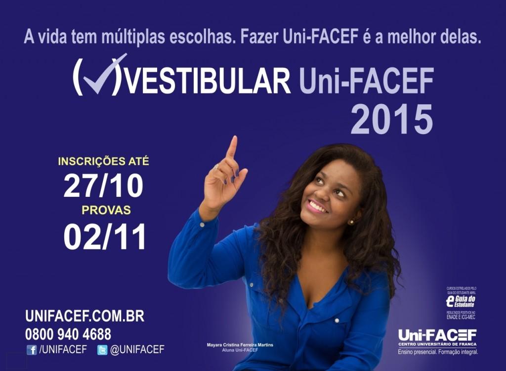 Vestibular Uni-FACEF 2015