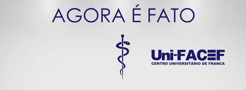 Em 2015, Medicina no Uni-FACEF.