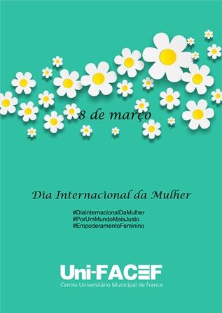 Uni-FACEF entrega flores para estudantes, professoras e funcionárias