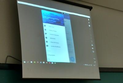 Estudantes de Sistemas de Informação apresentam aplicativo móvel