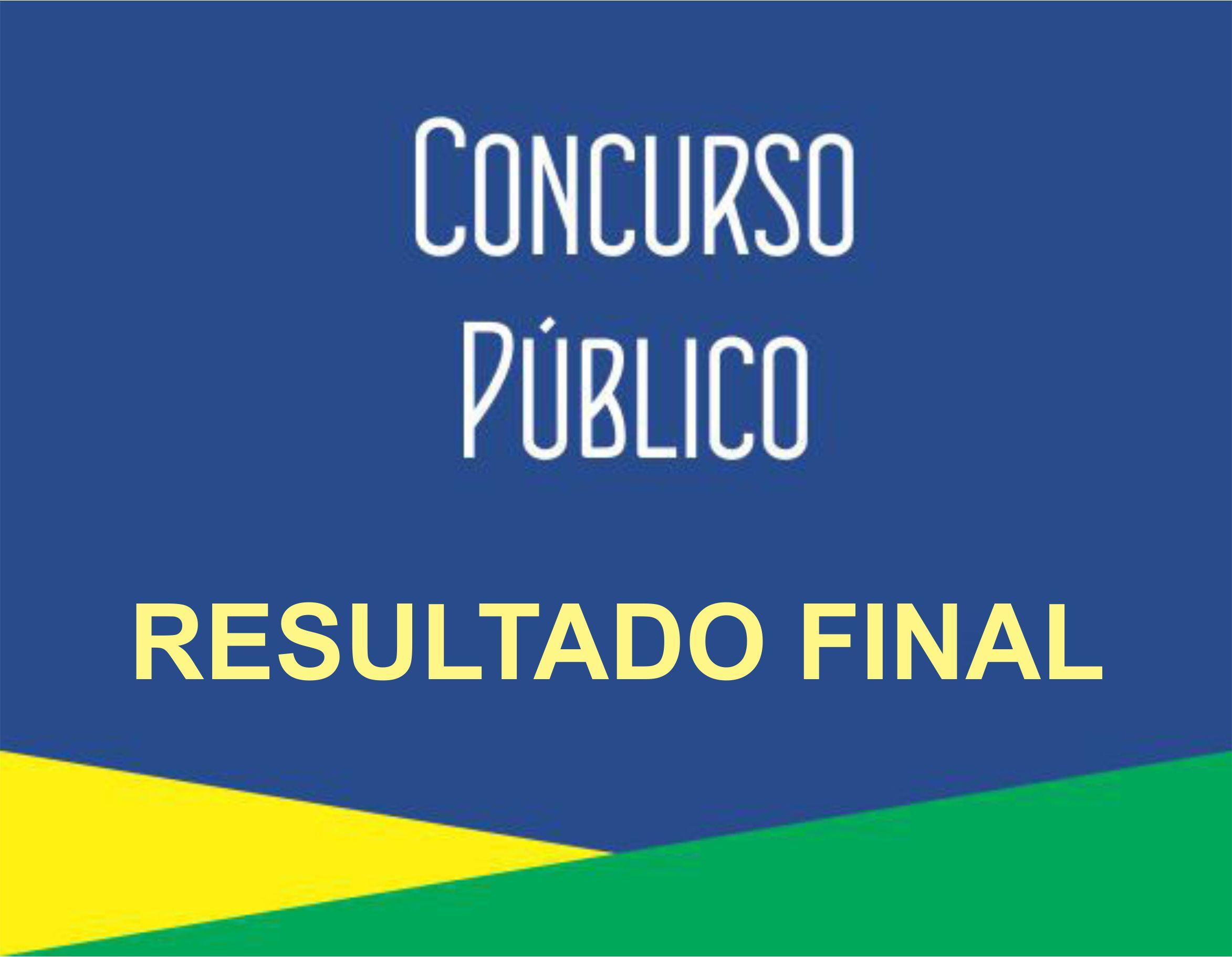 Concurso Público n° 04/2016 (Hidrologia) – Resultado Final