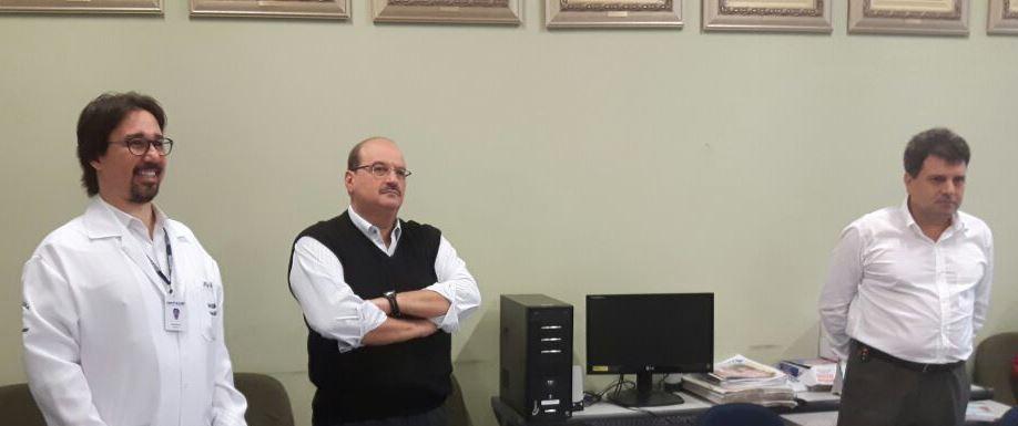 Em visita ao Uni-FACEF, Vereadores conhecem instalações e simuladores do curso de Medicina