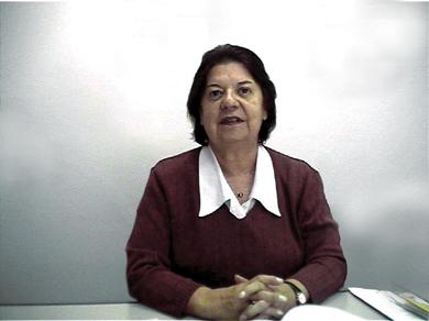 Profa. Dra. Teresinha Covas Lisboa. Crédito: arquivo pessoal.