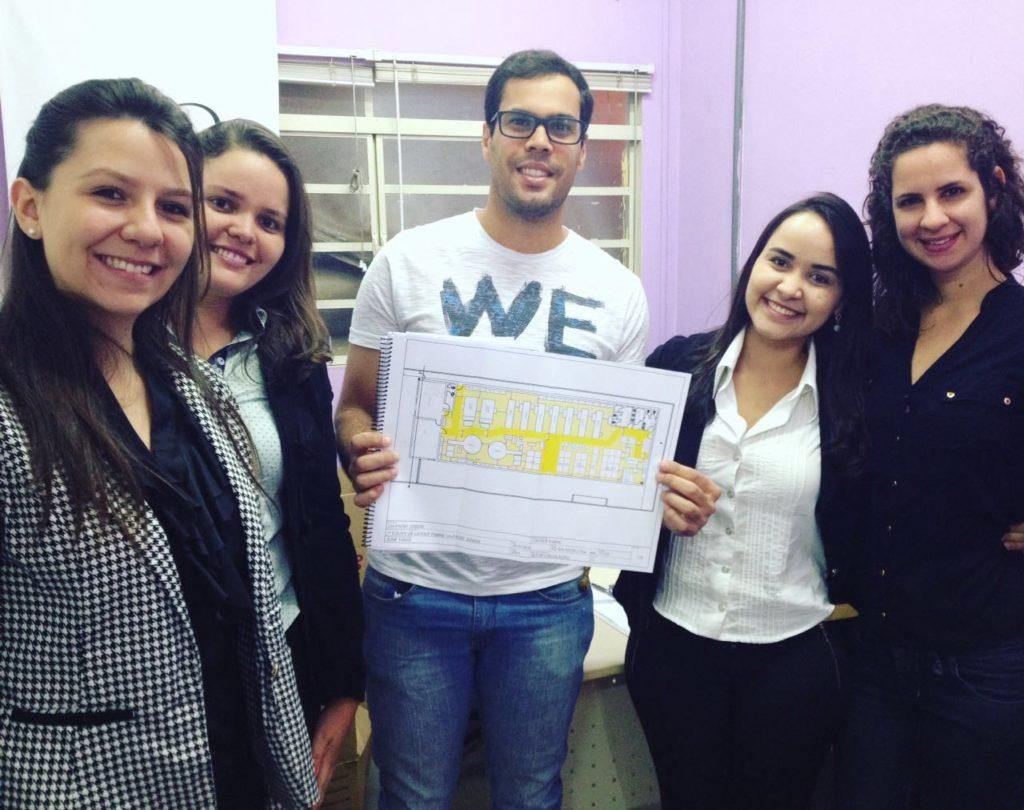 Alunos do Uni-FACEF Júnior concluíram um Projeto de Layout Industrial para empresa de Franca