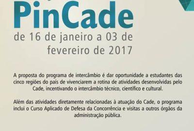 Inscrições Abertas Pincade 2017