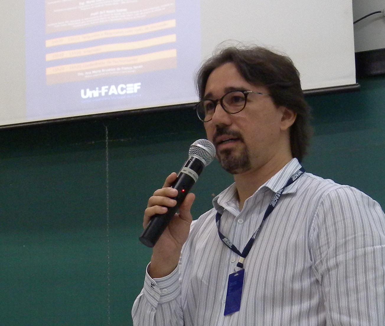 Prof. Dr. Frederico Alonso Sabino - coordenador do curso de Medicina, do Uni-FACEF. Foto: Uni-FACEF