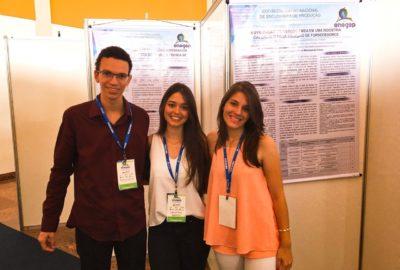 Estudantes de Engenharia de Produção, do Uni-FACEF, apresentam pesquisas no maior evento da área