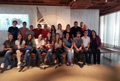 Estudantes de Engenharia de Produção do Uni-FACEF visitam Natura NASP