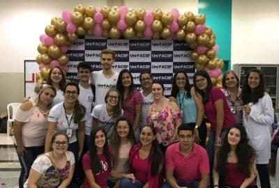 Estudantes de Enfermagem, do Uni-FACEF, promovem evento para a saúde da mulher