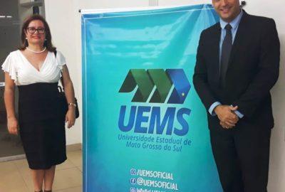 Reitor e Pró-Reitora do Uni-FACEF participam de fórum em Mato Grosso do Sul