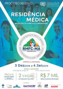 Prefeitura Municipal de Morro Agudo e Uni-FACEF abrem inscrições para prova de Residência Médica em Medicina de Família e Comunidade