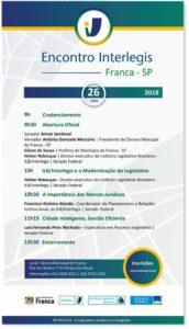 Inscrições abertas para o Encontro Interlegis em Franca