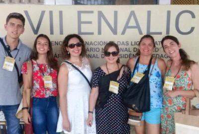 Professoras e estudantes de Letras e Matemática, do Uni-FACEF, participam de congresso no Ceará