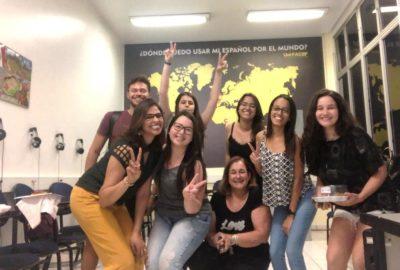 Estudantes dos cursos de idiomas do Uni-FACEF promovem confraternização para o encerramento do ano letivo