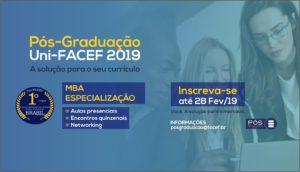 Pós-Graduação Uni-FACEF está com inscrições abertas