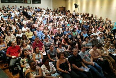 Reitoria e professores do Uni-FACEF recebem pais dos Calouros 2019
