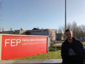 Estudante de Administração do Uni-FACEF chega a Portugal para intercâmbio