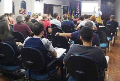 Estudantes de Engenharia Civil participam de audiência pública sobre o saneamento básico de Franca