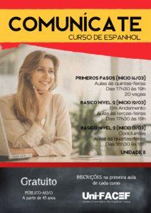 Curso de espanhol para a comunidade