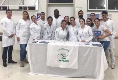 Curso de Enfermagem, do Uni-FACEF, desenvolve ações de educação em saúde para combate ao Aedes aegypti