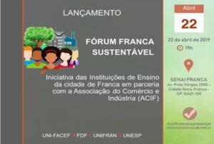 Uni-FACEF participa do Fórum Franca Sustentável