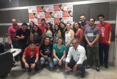 Estudantes de Publicidade e Propaganda visitam rádio