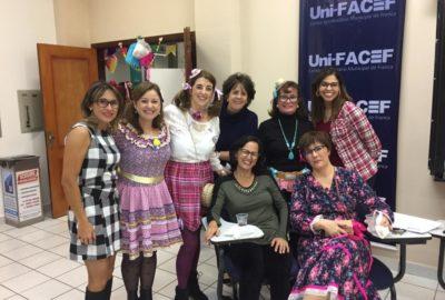 Curso de Letras promove festa junina no Uni-FACEF