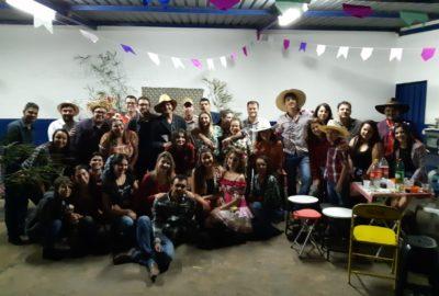 Estudantes de Matemática fazem festa junina