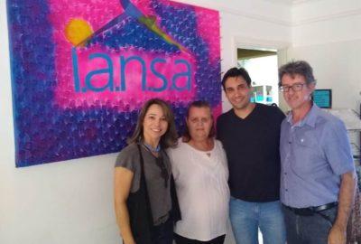 Reitor do Uni-FACEF visita IANSA