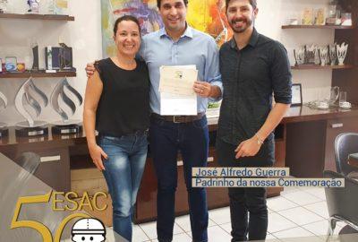 """Reitor é """"padrinho"""" da ESAC- Escola de Aprendizagem e Cidadania de Franca"""