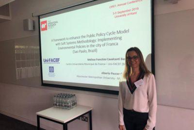 Professora do Uni-FACEF tem trabalho aprovado em um dos maiores eventos de pesquisa operacional, na Inglaterra