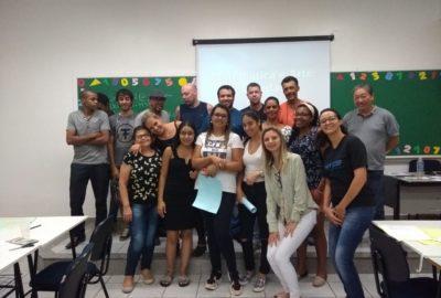 Estudantes de Matemática levam oficina a estudantes do EJA