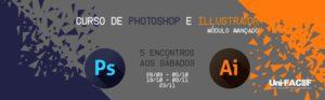 Curso de Photoshop e Illustrator AVANÇADO está com inscrições abertas