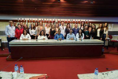 Estudantes de Ciências Contábeis vão a Brasília