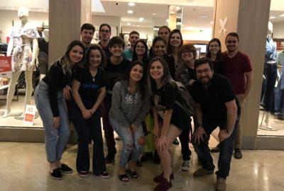 Estudantes de Publicidade e Propaganda fazem visita técnica ao FrancaShopping e ao Supermercado Savegnago