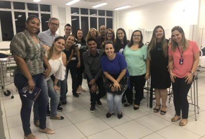 Professores e coordenadores de Cursos Técnicos em Enfermagem visitam Uni-FACEF