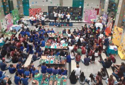 Estudantes das escolas atendidas pelo PIBID Uni-FACEF expõem trabalhos