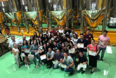 Estudantes de Administração visitam Cervejaria Colorado