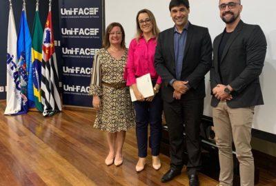 Pesquisador especialista em desenvolvimento sustentável  fala para docentes do Uni-FACEF