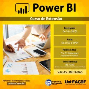 Curso de extensão em Power BI
